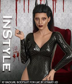 InStyle- X-Fashion BadGirl Bodysuit for G8F