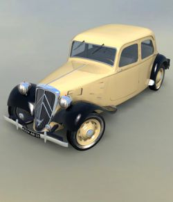 CITROEN TRACTION 1938   for VUE