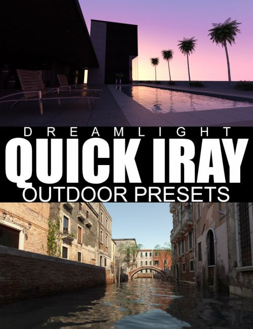 Quick Iray Outdoor Presets