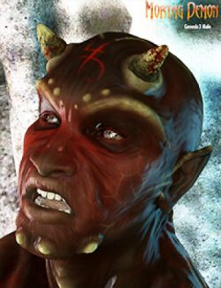 Mortag Demon for Genesis 3 Male