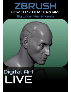 How to Sculpt Faces and Fan Art with ZBrush