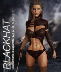 BLACKHAT- Leatherworks La Caporal for G3F & G8F