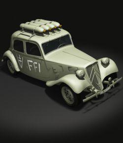 CITROEN TRACTION FFI- Extended License