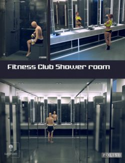 Fitness Club Shower Room