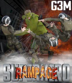 SuperHero Rampage for G3M Volume 1