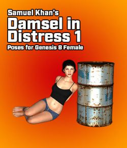 Samuel Khan's Damsel in Distress Poses 1 for G8F