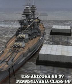 U.S.S Arizona for Poser