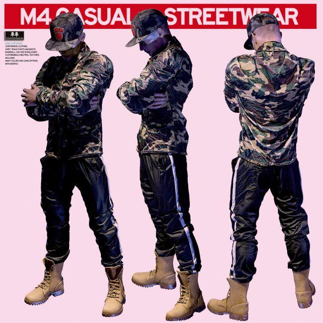 M4 Casual Streetwear