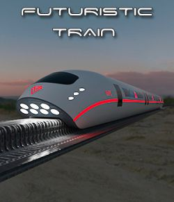 AJ Futuristic Train