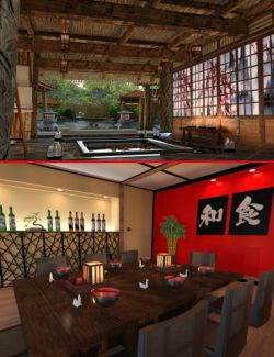Japanese Restaurant, Spa and Hot Spring Bundle