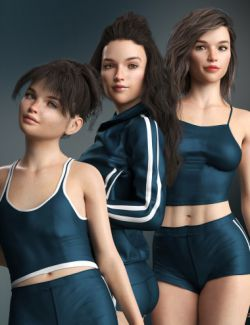 LY Glitter Sweet Girls for Growing Up for Genesis 8 Female(s)