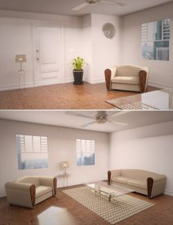 Interior Room and Furniture