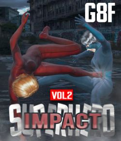 SuperHero Impact for G8F Volume 2