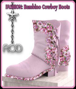 FASHION: Bambino Cowboy Boots
