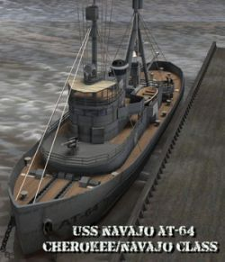 USS Navajo - for Poser
