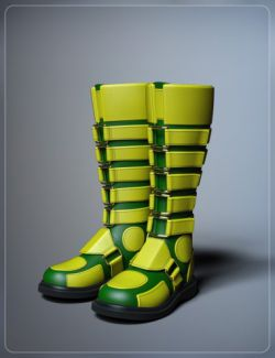 Extreme Boots for Genesis 3 and 8 Female(s)