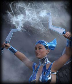 Space Goddess for G8F- Morphing Thunderstorm AddOn