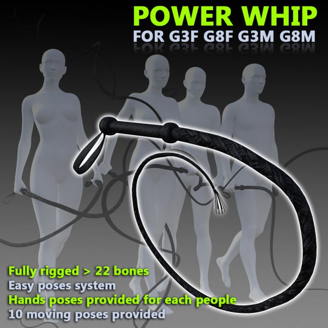 Power Whip for G3F G8F G3M G8M