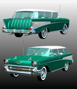 CHEVROLET NOMAD 1957 for POSER