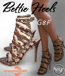 Bettie Heels and Pantyhose G8F