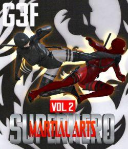 SuperHero Martial Arts for G3F Volume 2