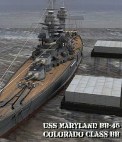 USS Maryland BB-46- for Poser