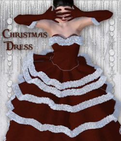 Christmas Dress for V4 and Poser