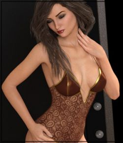 Private Moments: X-Fashion Lace Bodysuit- G8F
