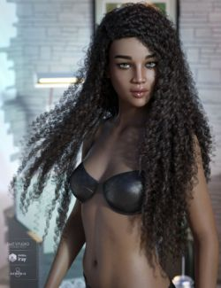Pascale Hair for Genesis 3 & 8 Female(s)