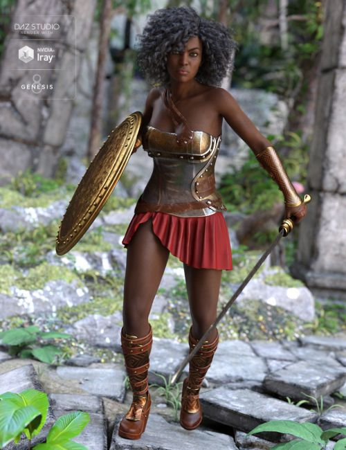 Goddess Minerva Outfit for Genesis 8 Female(s)