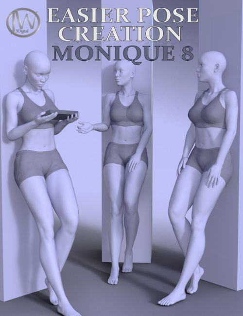 Easier Pose Creation for Monique 8