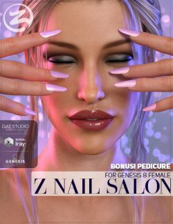 Z Nail Salon for Genesis 8 Female(s)