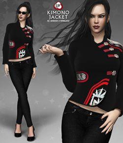 Kimono Jacket for Genesis 3 Females