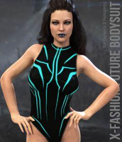 X-Fashion Future Bodysuit for Genesis 8 Females