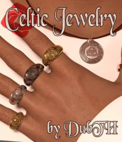 Celtic Jewelry For G3F G3M G8F G8M