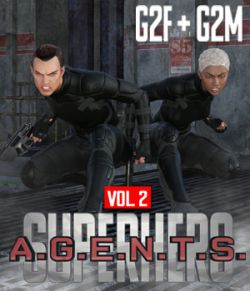 SuperHero Agents for G2F and G2M Volume 2