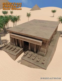 Egyptian Fantasy Bath House