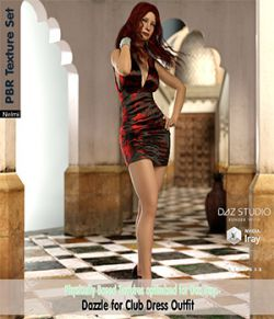 Dazzle for Club Dress Outfit Texture set