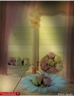 Shabby Chic Rose Decor