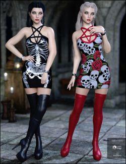 Lustrum Dress Outfit Textures