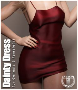 Dainty Dress for Genesis 8 Females