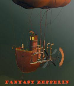 Fantasy zeppelin