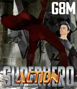 SuperHero Action for G8M Volume 1