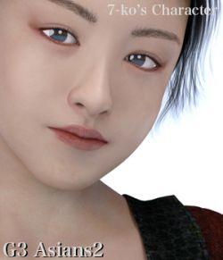 7-ko's Character G3 Asians2