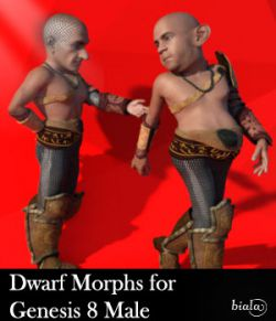 Dwarf Morphs For Genesis 8 Male