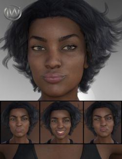 Strong Woman - Expressions for Monique 8