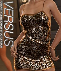 VERSUS- Dainty Dress for Genesis 8 Females