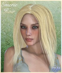 Prae-Emerie Hair For V4 Poser