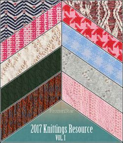 FS 2017 Knittings Resource Vol.I