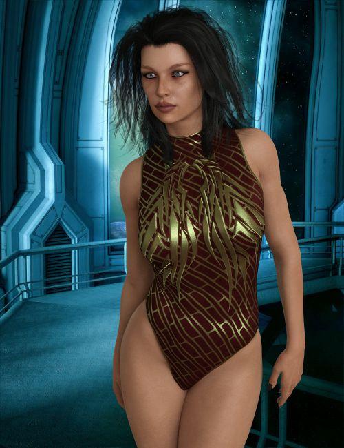 InStyle - X-Fashion Future Bodysuit for Genesis 8 Females